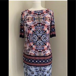 NWOT Eliza J 3/4 Sleeve dress Sz 6P